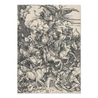 Four Horsemen of the Apocalypse by Durer Card