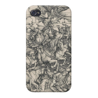 Four Horsemen of the Apocalypse by Durer iPhone 4 Cases