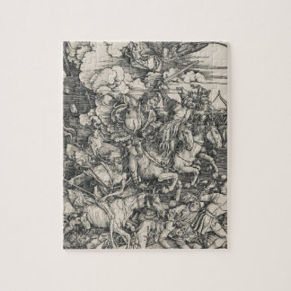 Four Horsemen of the Apocalypse by Durer Jigsaw Puzzle