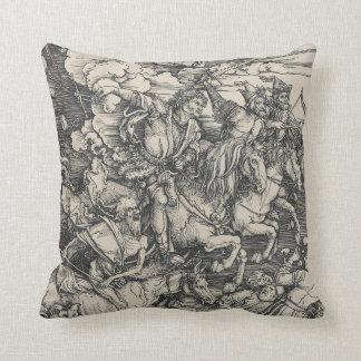Four Horsemen of the Apocalypse by Durer Pillows