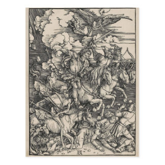Four Horsemen of the Apocalypse by Durer Postcard