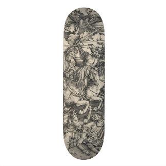 Four Horsemen of the Apocalypse by Durer Skate Board Deck