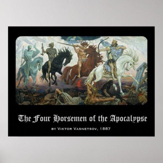 Four Horsemen of the Apocalypse Poster