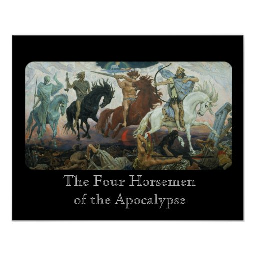 Four Horsemen of the Apocalypse Posters