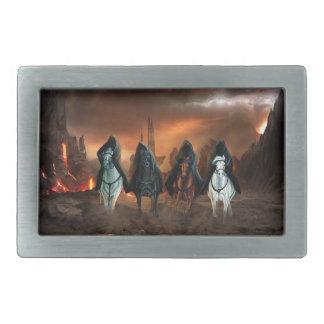 Four Horsemen Of The Apocalypse Rectangular Belt Buckle