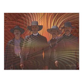Four Horsemen Postcard