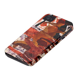 Four Horses Mobile Phone Cases iPhone 4 Case