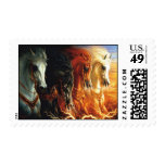 Four Horses of the Apocalypse Stamp