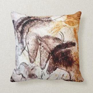 Four Horses Pillow/Cushion Throw Pillow