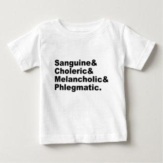 Four Humors Sanguine Choleric Melancholic Phlegm Shirt