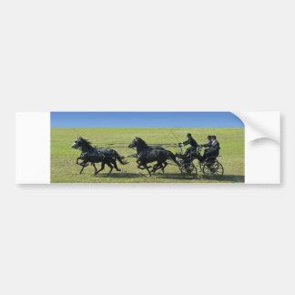 four-in-hand bumper sticker