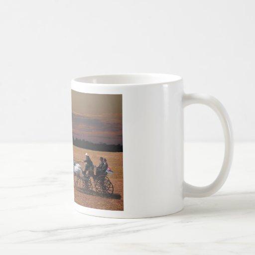 four-in-hand classic white coffee mug