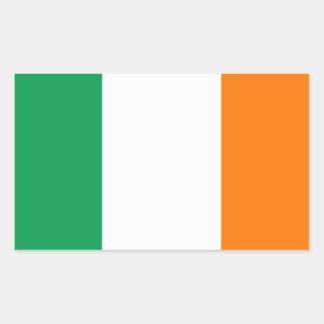 FOUR Ireland Fl ag Rectangular Sticker