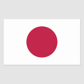 FOUR Japan National Flag Stickers