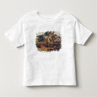 Four Jockeys Galloping Toddler T-shirt
