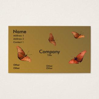 Four Julia Butterflies Business Card