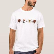 Four key ants T-Shirt