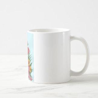 Four kinds of Beautiful Flowers Coffee Mug