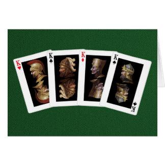Four Kings Card