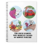 Four Leading Causes of Non-Medical Kidney Failure Spiral Notebook