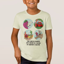 Four Leading Causes of Non-Medical Kidney Failure T-Shirt