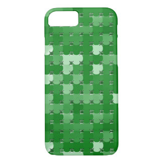 Four-Leaf Clover Abstract on iPhone 7 Case