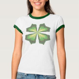 Four Leaf Clover Abstract Shirt