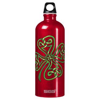 Four-Leaf Clover Aluminum Water Bottle