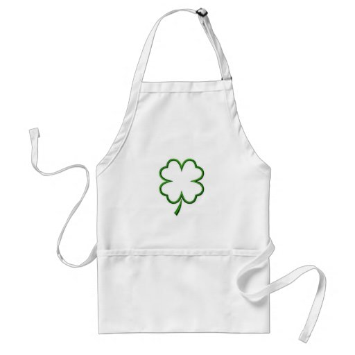 Four Leaf Clover Apron