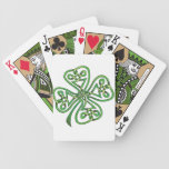 Four-Leaf Clover Bicycle Playing Cards