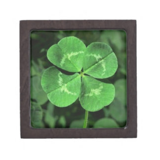 Four Leaf Clover Box, Gift Box or Keepsake Box Premium Gift Boxes