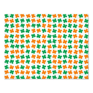 Four-leaf clover card