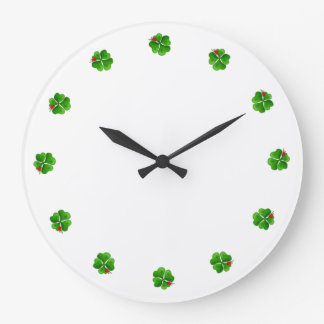 Four Leaf Clover Clock