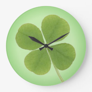 four leaf clover clock