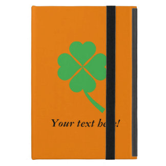 Four-leaf clover cover for iPad mini