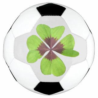 Four Leaf Clover Customizable Soccer Ball