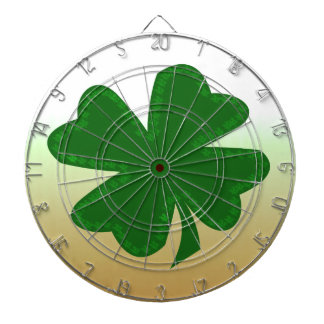 Four Leaf Clover Dartboard