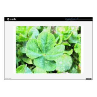 FOUR LEAF CLOVER DECAL FOR LAPTOP
