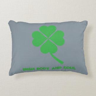 Four-leaf clover decorative pillow