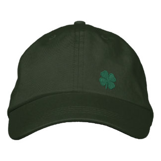 Four Leaf Clover Embroidered Baseball Hat