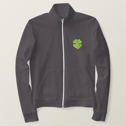 Four-leaf Clover Embroidered Jacket