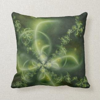 Four-Leaf Clover Fractal Pillows
