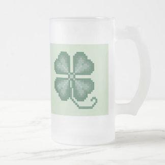 Four Leaf Clover Frosty Mug
