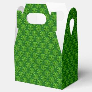 Four Leaf Clover-Gable Favor Box