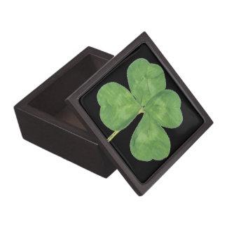Four Leaf Clover Gift Box Trinket Box Jewelry Box