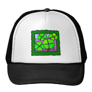 Four Leaf Clover Trucker Hats