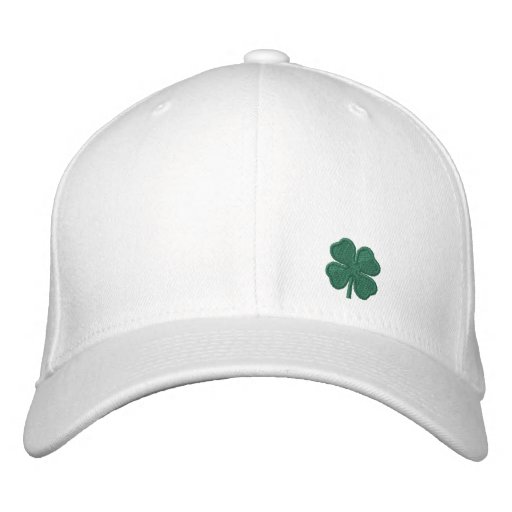 7a08d23c938 Four Leaf Clover Hat Cap (Totally Customizable)