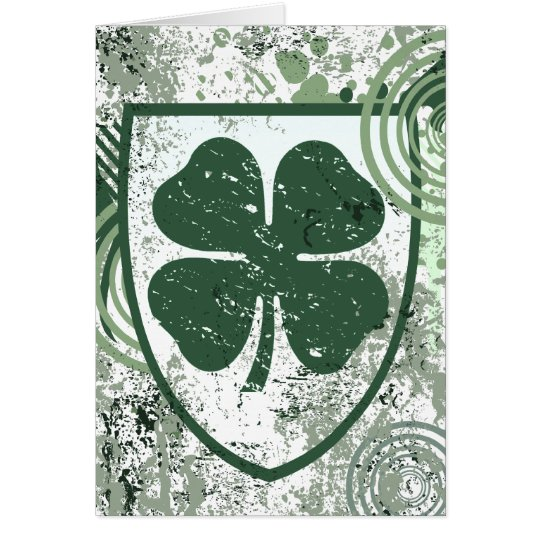 four leaf clover. hi-fi. v2. card