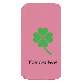 Four-leaf clover iPhone 6/6s wallet case