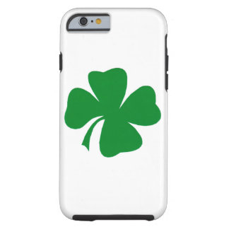 Four Leaf Clover iPhone 6, Tough Tough iPhone 6 Case